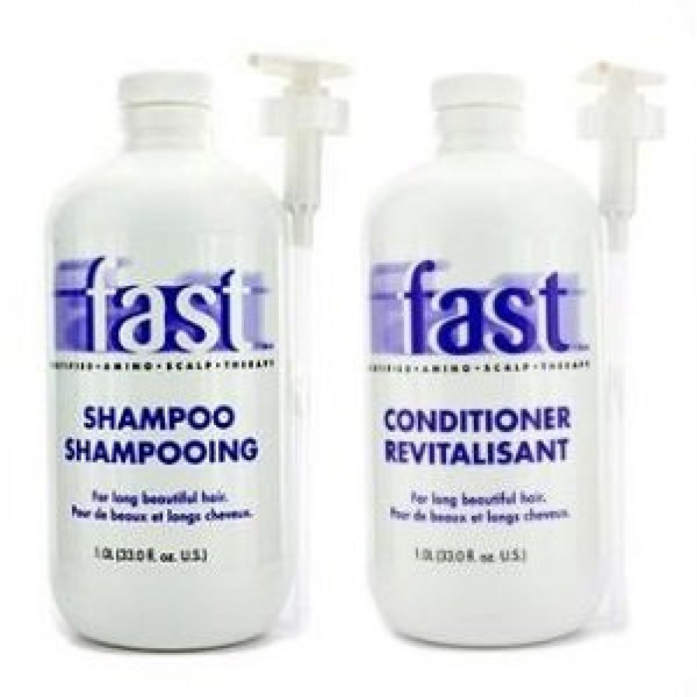 NISIM FAST Shampoo & Conditioner Set - 1L