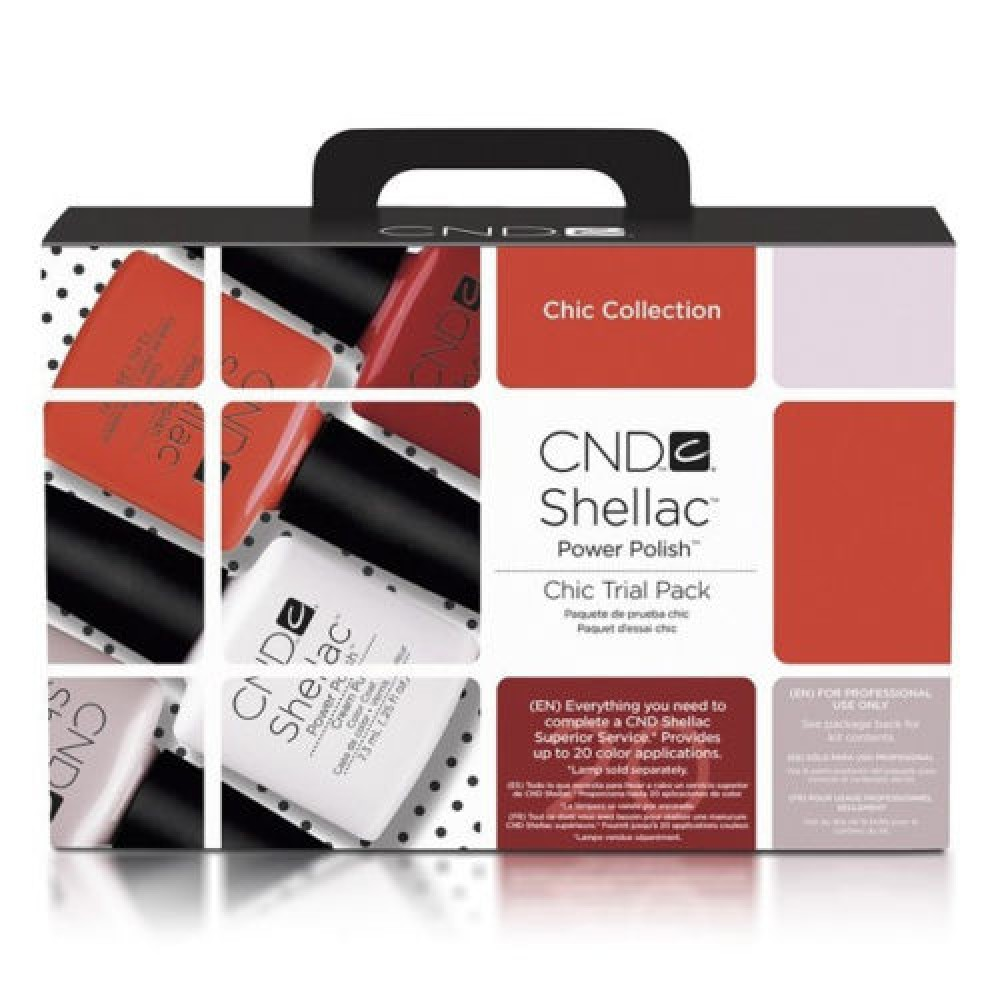 Creative CND Shellac CHIC Starter Trial Pack Kit Collection