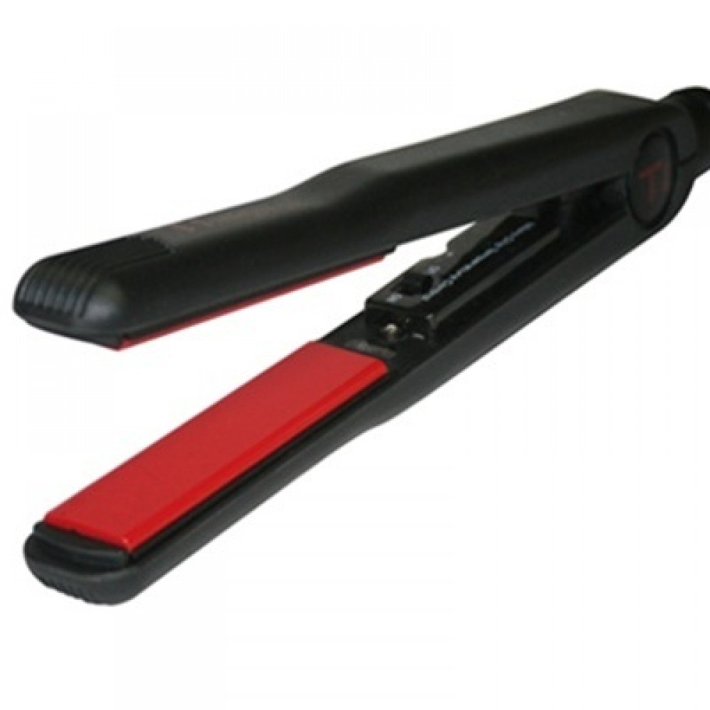 "Ti Creative Styling Ti Classic Cruise Soft Black Flat Iron / Hair Straightener (1"") - TICCSB"