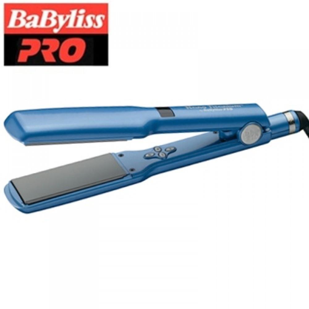 "Babyliss Pro Nano-Titanium and Ceramic Digital Flat Iron / Hair Straightener (1"" inch) - BNT2095C"