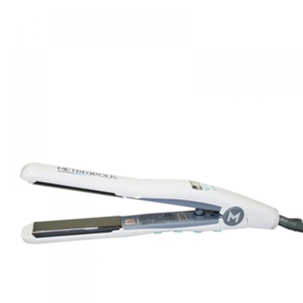 "Metropolis Titanium Ionic Digital Flat Iron / Hair Straightener (1-1/8"" inch)"