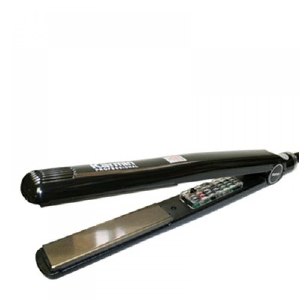 "Karmin G3 Salon Pro Black Tourmaline Ceramic Flat Iron / Hair Straightener (1"")"