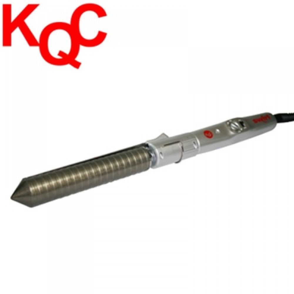 "New KQC Swirl Professional Ceramic Curling Iron (1"")"
