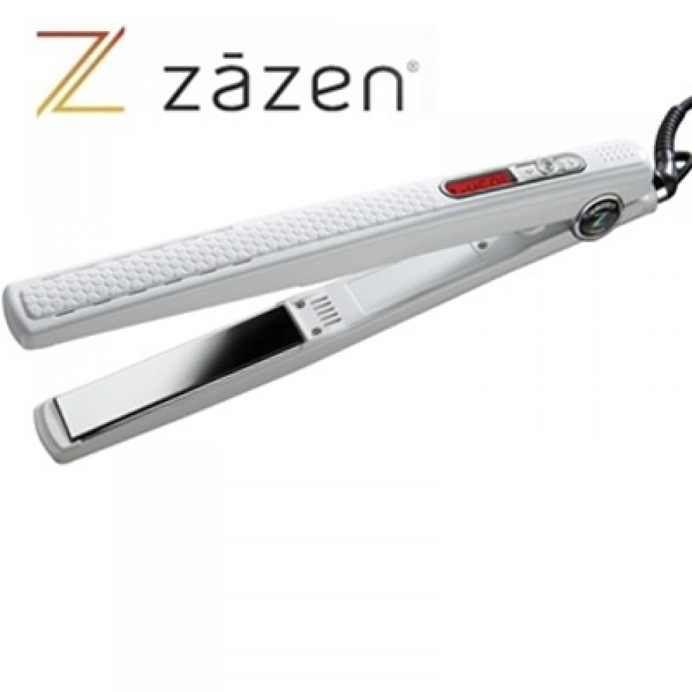 "Zazen Titanium & Nano-Ceramic Flat Iron with Infrared Generator (1"" inch) - Z-SMART"