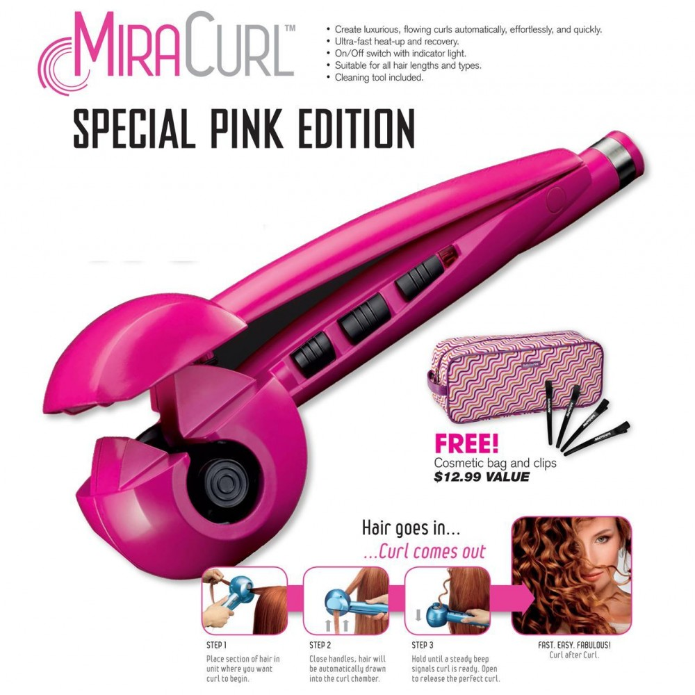 Babyliss Miracurl PINK LIMITED EDITION PERFECT CURL