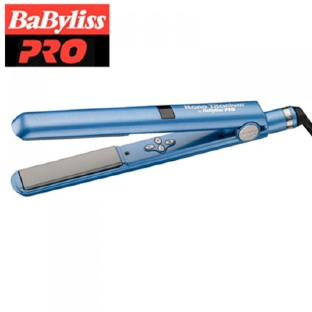 "BaByliss Pro Nano-Titanium Ceramic Digital Flat Iron BNT2095C 1"""
