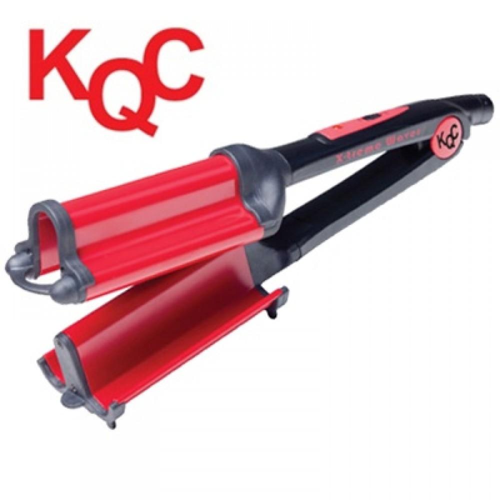 KQC Xtreme Deep Waver Tourmaline / Ceramic Hybrid Iron (40mm)