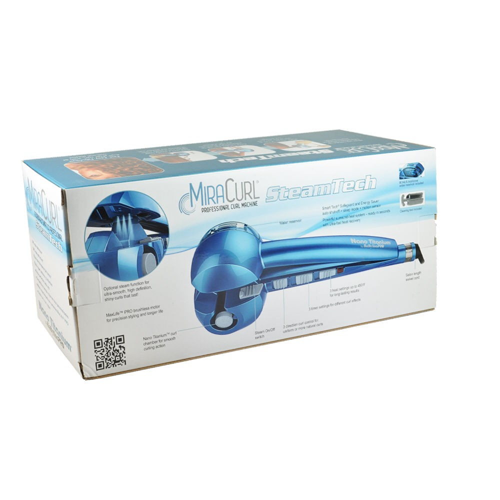 BaByliss MiraCurl SteamTech Curling Iron